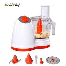 ITOP 500W Vegetable Cutters Food Processors Potato Slicer Garlic Peeler Meat Grinder Multifunction Chopper