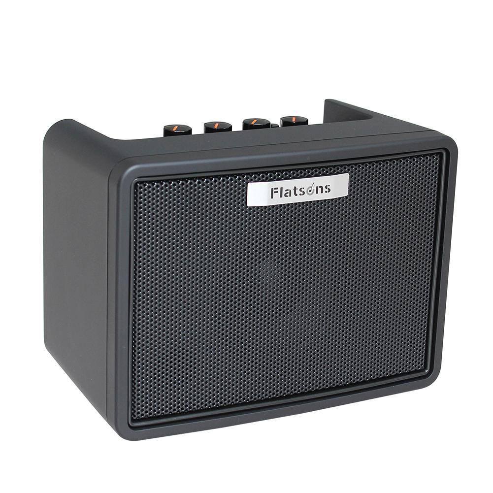 flatsons guitar amplifier built in mini amp electric guitar bass rhythm support. Black Bedroom Furniture Sets. Home Design Ideas