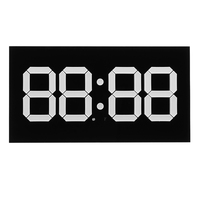 3D LED Digital Wall Alarm Clock WIFI Remote Control 14 Inch Calendar Night light For Home Living Room Office