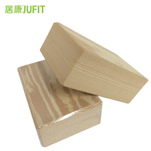 JUFIT EVA Yoga Blocks Grain Foaming Home Exercise Gym Fitness Waterproof  Bricks