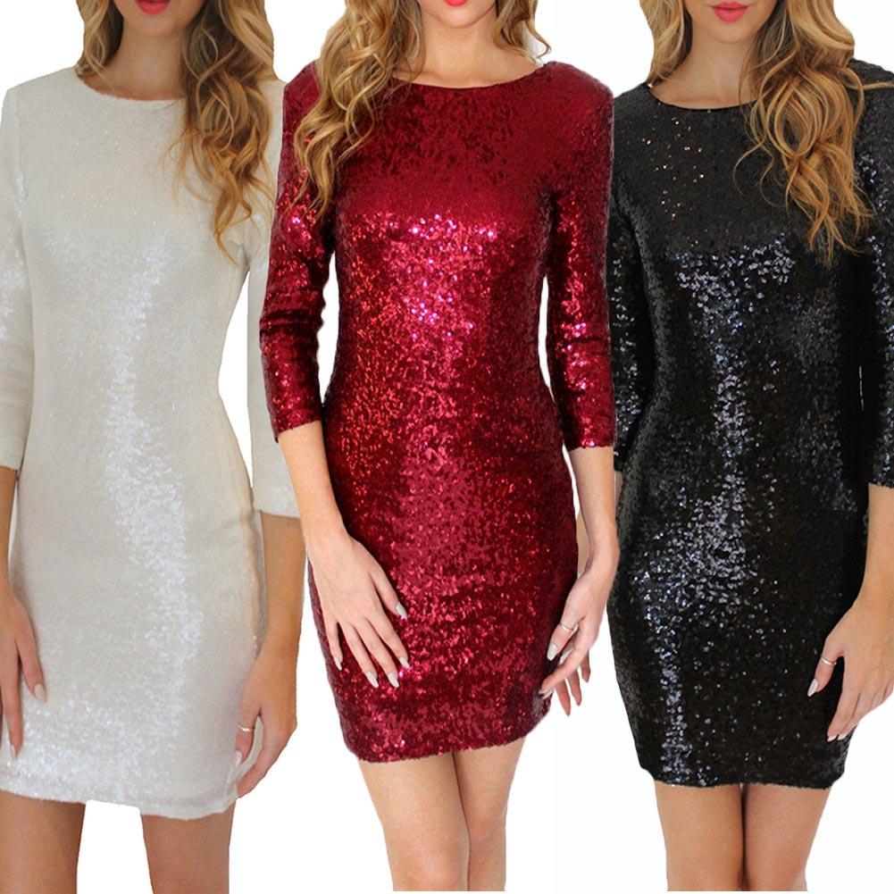 Sequin Dress Bling Dresses 2019 Sexy Spring Summer Shining Dress Glitter Strap Elegant Party Mini Dress Festival Women Vestido