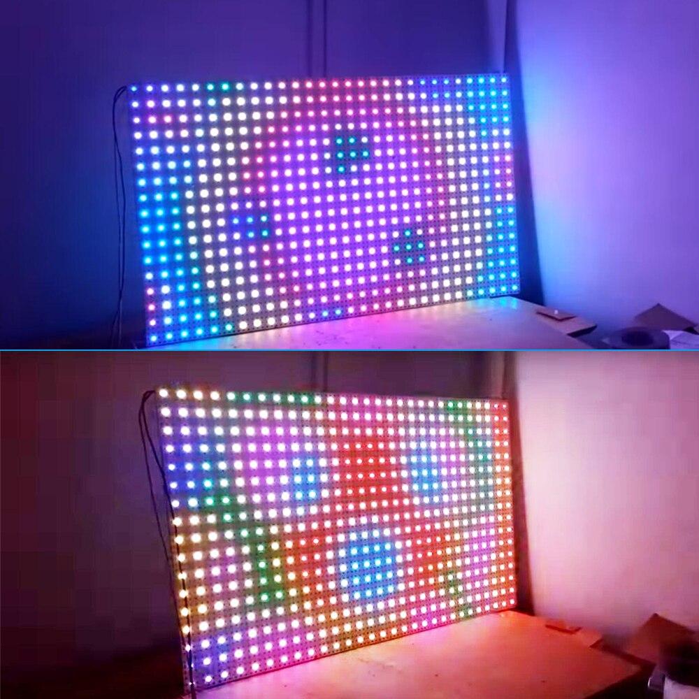 Image 5 - 5 1000 قطعة DC5V PL9823 F5 5 مللي متر F8 8 مللي متر قبعة دائرية عنونة المصابيح P9823 شرائح RGB كامل اللون متجمد LED رقائق بكسلrgb ledchip ledled rgb -