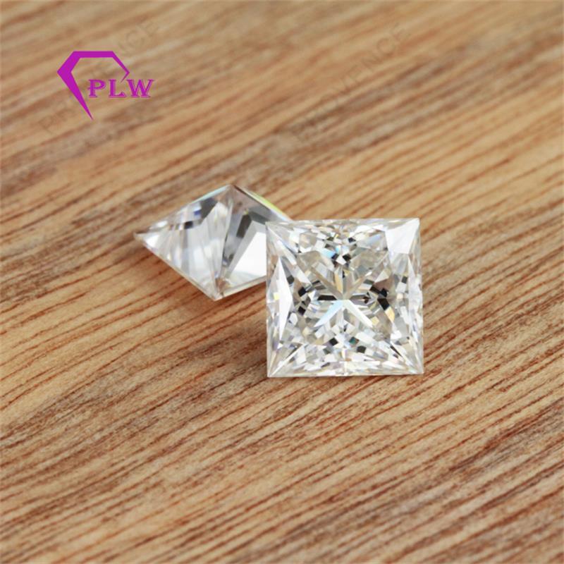 Provence jewelry on factory sale price D color 0.4 carat 4*4mm princess cut 3ex VVS for ring bracelet necklace earring Provence jewelry on factory sale price D color 0.4 carat 4*4mm princess cut 3ex VVS for ring bracelet necklace earring