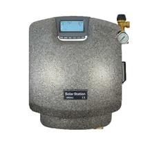 Двойной трубопровод Solaire Pompage D'eau de Chauffage Pmp станция водяной Солнечный нагреватель Элемент Тепловой контроллер