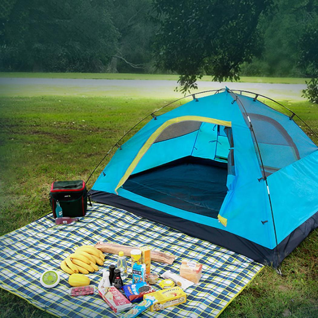 Camping Tent 3-4 person Tents Hydraulic automatic Waterproof Double Layer Tent Ultralight Outdoor Hiking Picnic tentsCamping Tent 3-4 person Tents Hydraulic automatic Waterproof Double Layer Tent Ultralight Outdoor Hiking Picnic tents
