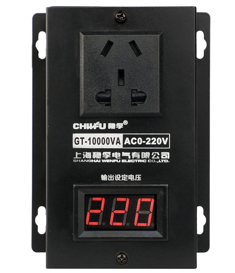 Image 3 - 10000w High power Controller Electronics Voltage Organ Electric Machinery Fans Electric Drill Variable speed controller AC 220V-in Motor Controller from Home Improvement