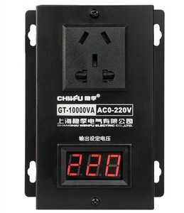 Image 3 - 10000w High power Controller Electronics Voltage Organ Electric Machinery Fans Electric Drill Variable speed controller AC 220V