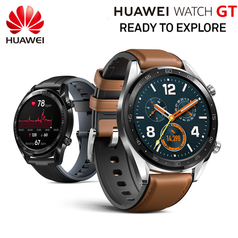 Original HUAWEI Smart WATCH GT Sport Watch 1 39 Heartrate Report Sleep Monitor AMOLED Screen GPS