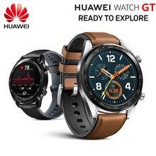 Orijinal HUAWEI akıllı İzle GT spor izle 1.39 kalp hızı raporu uyku monitör AMOLED ekran GPS Smartwatch 14 gün bekleme
