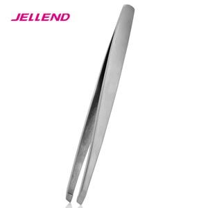 Image 3 - Jellend 전문 스테인레스 스틸 눈썹 족집게 우수한 두꺼운 클립 눈썹 헤어 리무버 미용 도구 얼굴 헤어 트위터