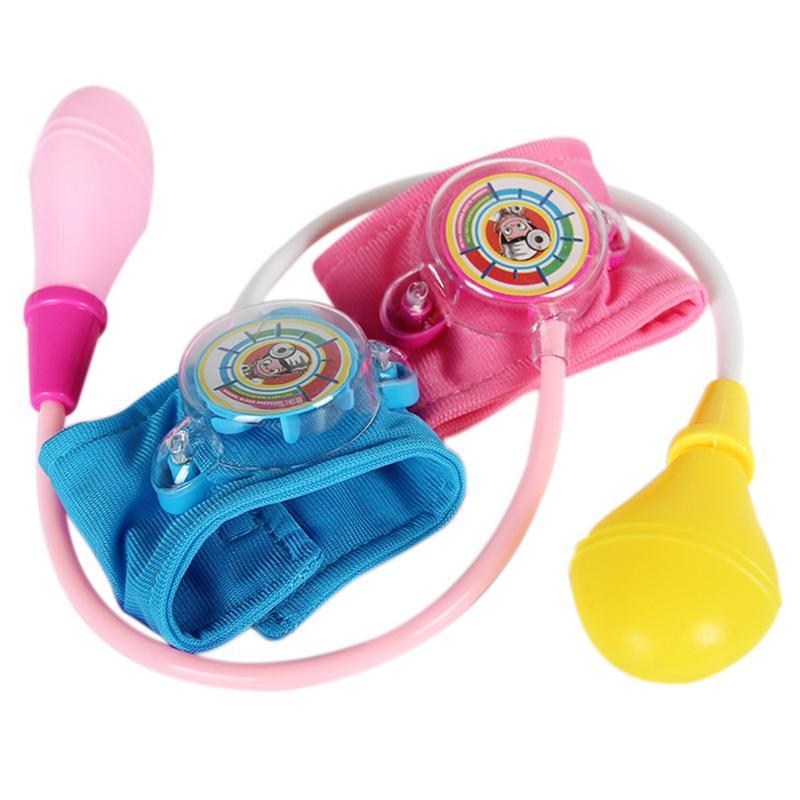 Doctor Medical Toys 2-4 years Doctor Kit Toy Kids Set Speaking At Home Doctor Nurses Blood Pressure Toys Medical