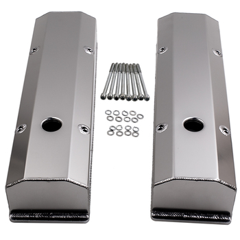 Fabricated Aluminum Valve Cover Fit 1958-86 Small Block Chevy 283/350/302/327/400 Engine Tall SBC