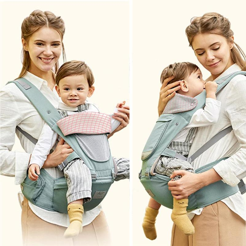 Newborn Baby Carrier Removable Infant Lap Strap Hipseat Multifunctional Front Facing Kids Toddler Sling Backpacks Waist Stool