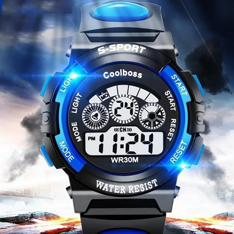Sport Student Kids Watch Kids Watches Boys Girls Child Digital Clock LED Electronic Wrist Watch Wrist Watch For Boy Girl Gift