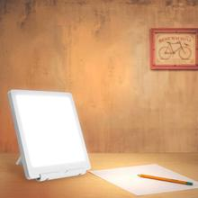 5V SAD terapi lambası 3 modları mevsimsel affektif bozukluk fototerapi 6500K simüle doğal gün ışığı USB SAD terapi lambası