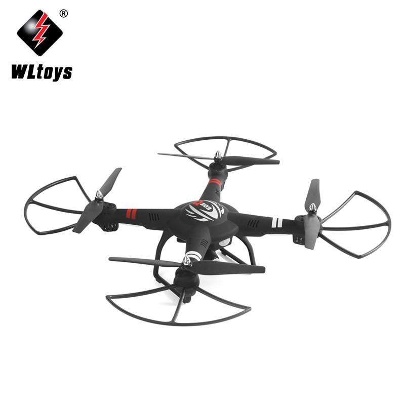 Wltoys q303 novos drones rc 5.8g fpv 720 p câmera zangão 4ch 6 eixos giroscópio rtf rc quadcopter led luz modo headless helicóptero - 2