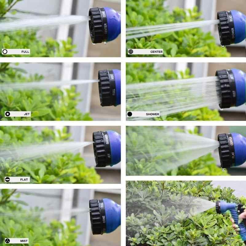 25FT-200FT Tuin Water Sproeiers Waterpistool Voor Watering Gazon Slang Spray Water Nozzle Pistool Auto Wassen Gazon Plastic Strooi Gereedschap