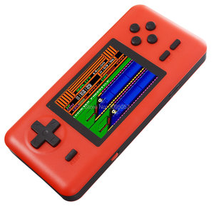 Image 4 - WOLSEN 8 קצת רטרו תחנת כיס כף יד משחק מובנה 586 משחקים 3.0 אינץ וידאו קונסולת משחקי תמיכת מיקרו TF כרטיס עומס משחק