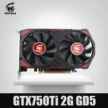 Video-Card Computer Geforce-Games GDDR5 Ti Nvidia VEINEDA Gtx 750 NEW 2G