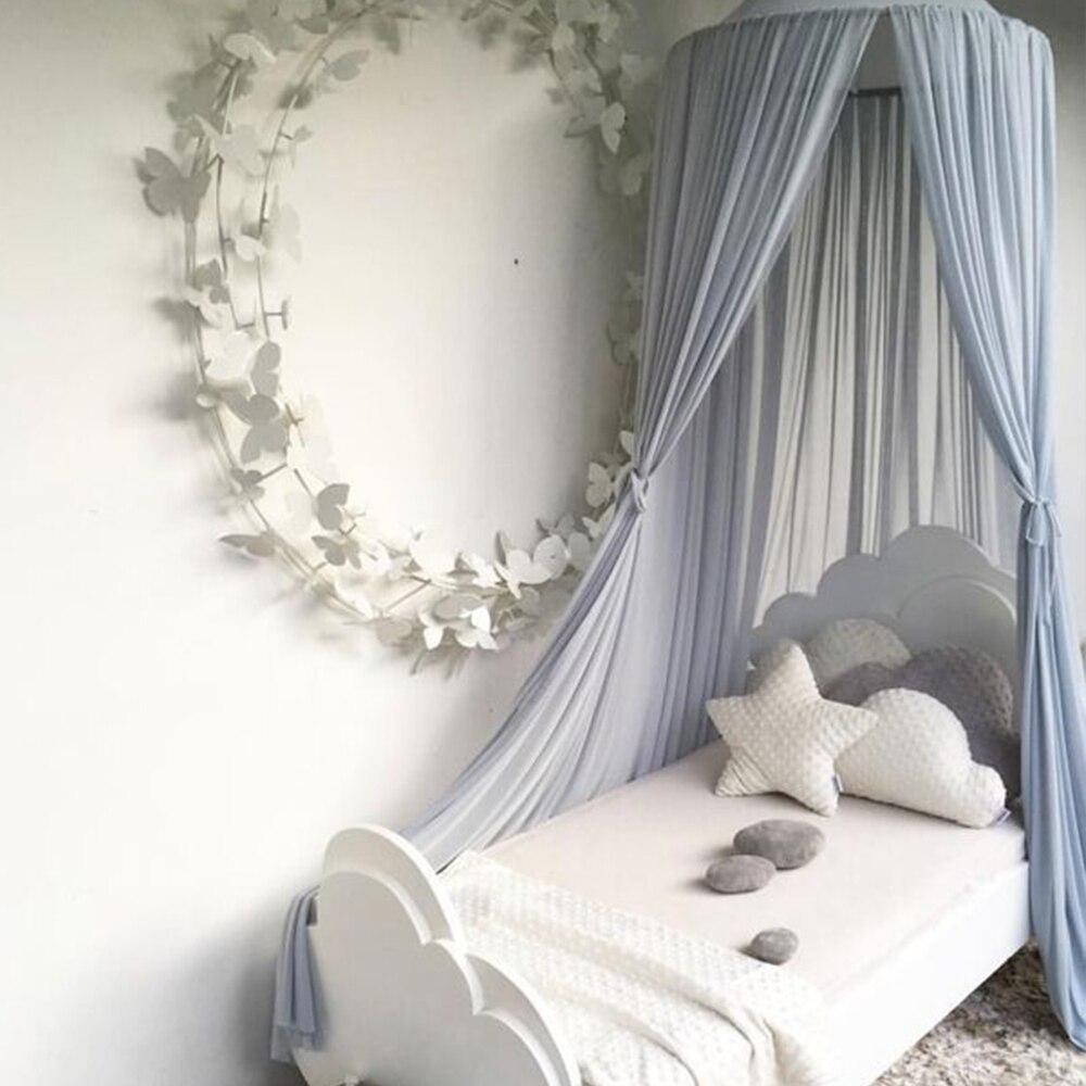 tentes de jeux pour enfants rideau de lit baldaquin tente suspendue decor de chambre d enfants dome rond moustiquaire de lit