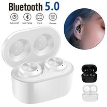 A6 TWS Wireless Bluetooth Earphone Handsfree Earbuds Heavy Bass Sport Headset In-Ear Mini Earbuds With Charging Box недорого