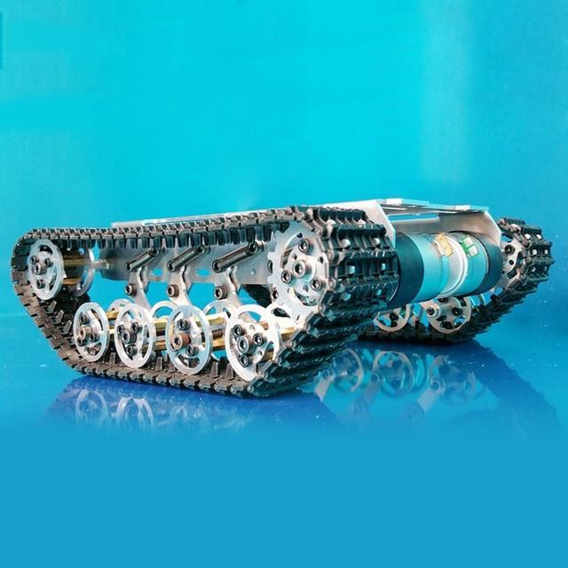 Système de suspension de chenille de châssis en alliage d'aluminium Intelligence RC châssis de chenille châssis d'absorption des chocs châssis de diabolo
