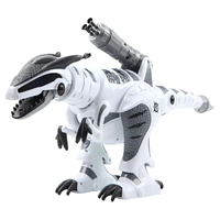 RC Robot Dinosaur Smart Interactive Touch sensitive Early Educational Toy Walking Dancing Singing with Fight Mode for Kids Gift