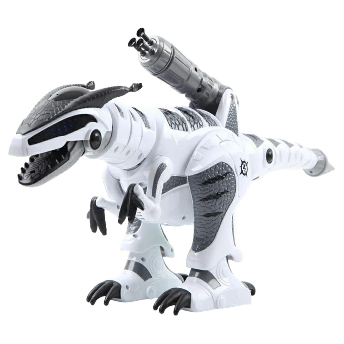 RC Robot dinosaure intelligent interactif tactile-sensible début jouet éducatif marche danse chantant avec Mode de combat pour enfants cadeau