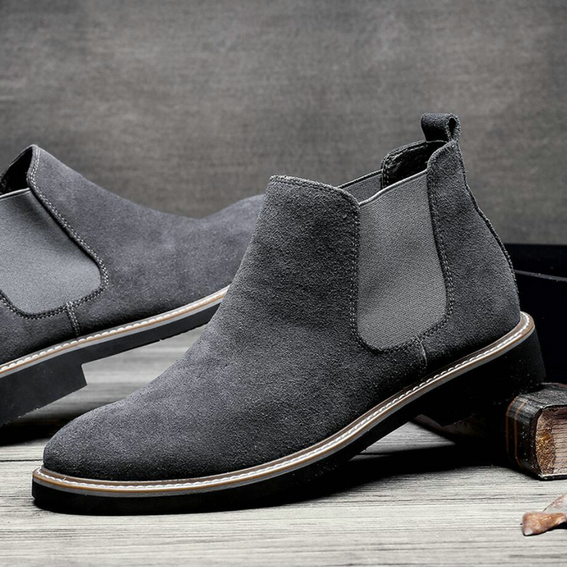 Men's Ankle Boot Suede Casual Chelsea