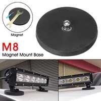 Автомобиль светодиодный свет бар Сильный Магнит База Монтажный кронштейн держатель w/резиновая прокладка для внедорожник грузовики, лодки