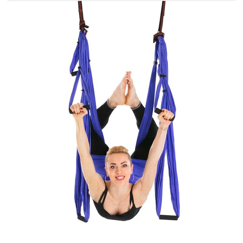 Ceinture de Yoga hamac décompression haute résistance Anti-gravité Aeria Yoga balançoire volante sport Gym ceintures suspendues