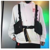 Fashion Chest Rig For Men Waist Bag ins Streetwear Functional Tactical Hip Hop Shoulder bag Crossbody Bags Men Canvas Bags