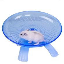 18cm Diameter Hamster Toy Mouse Plastic Running Disc Flying Saucer Pet Exercise Sport Jogging Wheel Small Accessorie