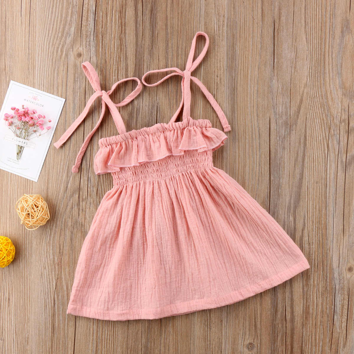 a13ef748a7 ... Toddler Infant Kids Baby Girls Summer Bathing Suit Bikini Beach Cover  Ups Dress Princess Party Wedding