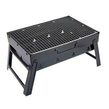 Portatil Portable Barbeque Smoker Camping Outdoor Kitchen Mini Grill Carbon Charcoal Churrasco Parrilla Bbq barbacoa Barbecue 21inch durable barbecue grill for outdoor bbq grill with charcoal bbq smoker charcoal smoked barbecue stove