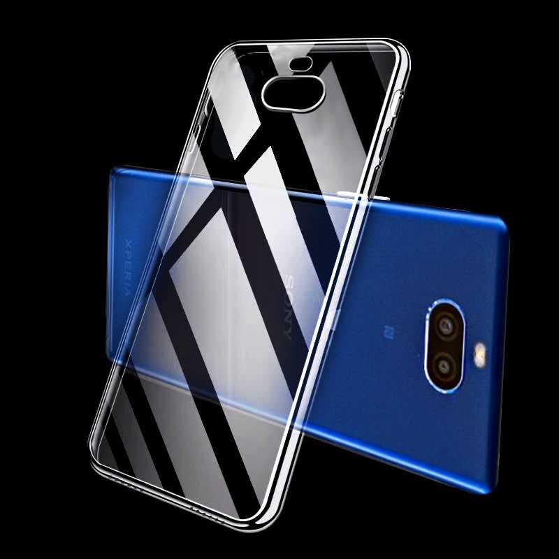 Mokoemi Mode Klar Tpu Weiche Silikon 6,0 für Sony Xperia 10 Fall Für Sony Xperia 10 Plus Handy Fall Abdeckung Handys & Telekommunikation Handytaschen & -hüllen