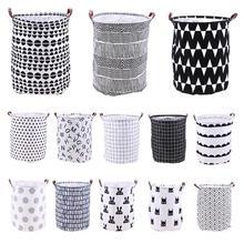 Складная Прачечная корзина для хранения одежды сумка для хранения корзина для грязного белья Детские игрушки органайзер для дома разное хранение баррель