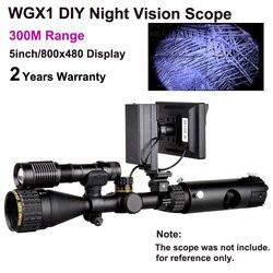 Wildgameplus WGX1 Digitale Portata di Vista di Visione Notturna di IR 300 M gamma a piena scuro Cannocchiale Di Visione Notturna come Cacciatore di Notte ottico
