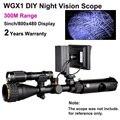 Wilgameplus WGX1 цифровой ИК ночного видения прицел 300 м диапазон при полной темноте прицел ночного видения как Ночной охотник оптический