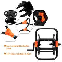 Portable 20M Garden Water Hose Reel Cart Water Pipe Storage Rack Holder Pipe Exclude Winding Tool Rack