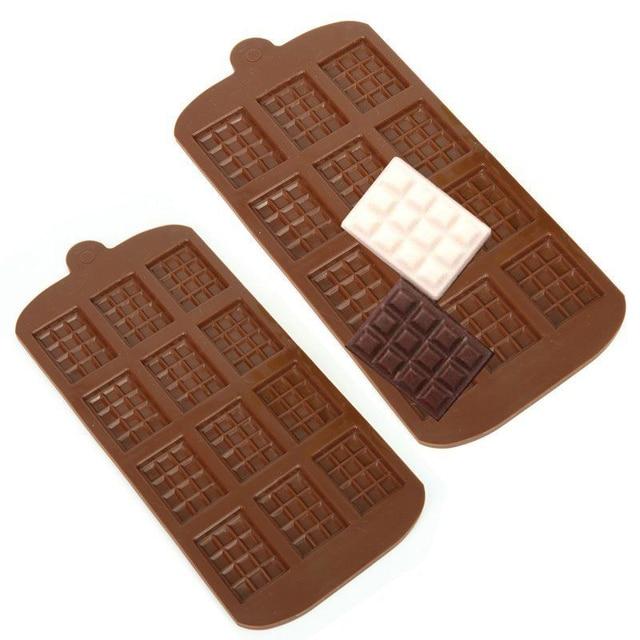 Силиконовые мини Шоколад блок Бар плесень формы для льда украшения торта инструмент