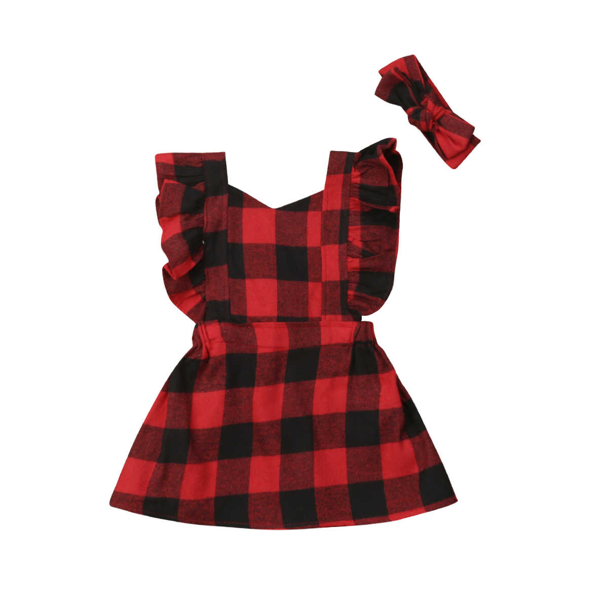 475544a82 Christmas Baby Girl Dress Red Plaid Newborn Infant Girls Tutu Dress  Princess Party New Year Dress