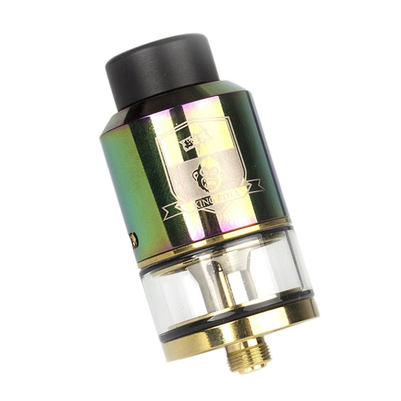 COIL FATHER RDTA Style 810 RDA RTA 3.5ml Capacity 25mm Vaporizer Tank For Electronic Cigarette Box Vape Atomizer(color)