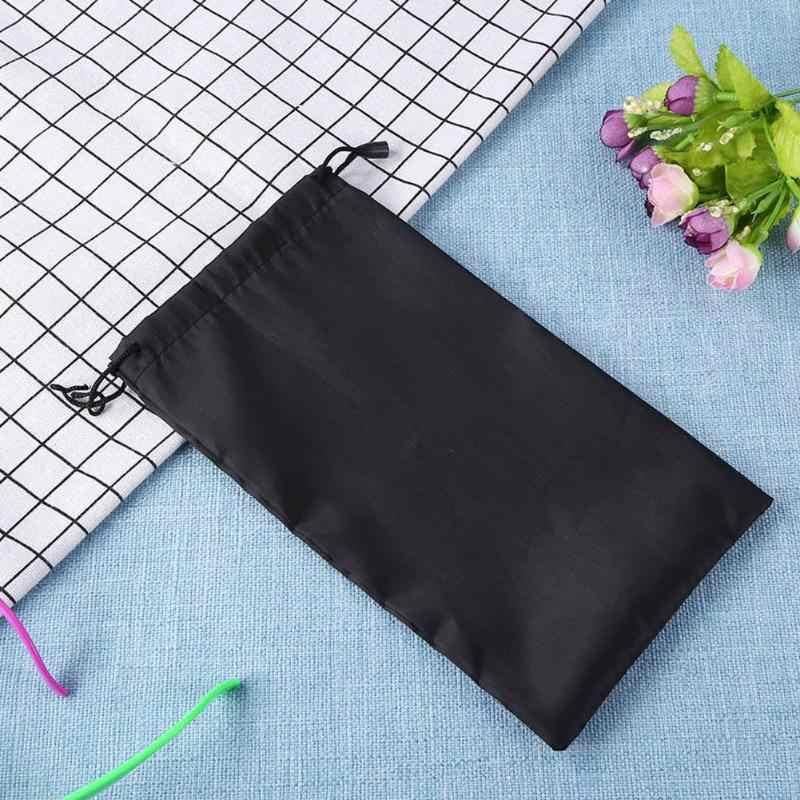 Al aire libre patinaje gafas de sol almacenamiento bolsas de tela suave gafas bolsa protector para gafas contenedor casos