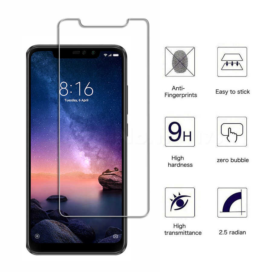 2.5D 9H Tempered Glass For Xiaomi Redmi Note 6 Pro note 5 Screen Protector Film For Redmi Note 4 4X Glass Redmi S2 5plus 0.26mm