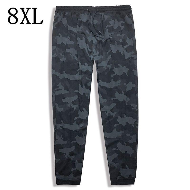 Taille 10XL 8XL 6XL 2018 nouveau Joggers hommes offre spéciale décontracté Camouflage pantalon hommes de haute qualité élastique confortable pantalon hommes