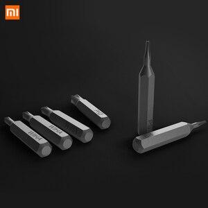 Image 4 - Xiaomi Kit de destornilladores de precisión Mijia Wiha 24 en 1, brocas magnéticas de 60hrc, herramientas de reparación para el hogar