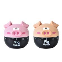 Мультфильм свинья кухонный таймер в виде фигур домашний кухонный сигнал часы обратный отсчет поросенок оборудование электронный таймер для приготовления выпечки жарки