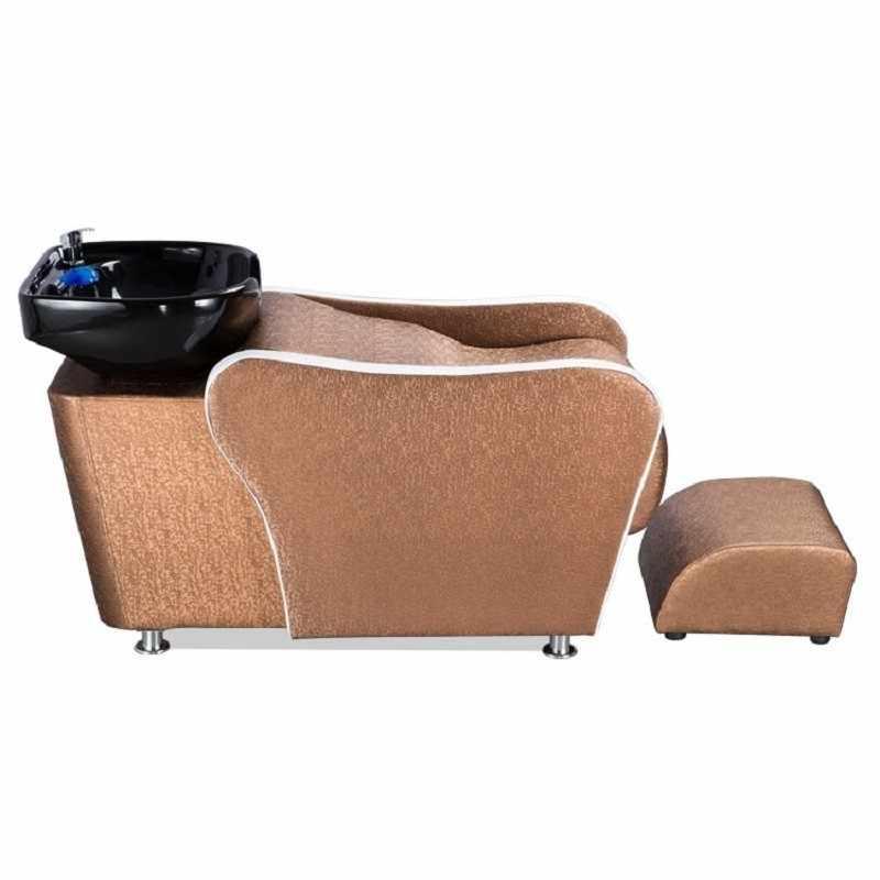 Makyaj Cadeira Cabeleireiro güzellik yatağı Lavacabezas Kuaför De Belleza Saç Mobilya Silla Peluqueria kuaför saç yıkama koltuğu
