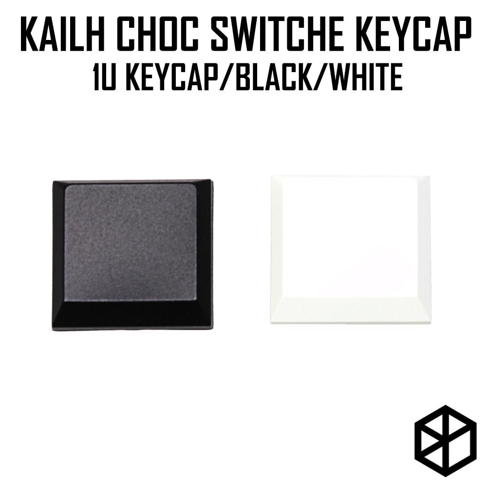 Kailh Choc Low Profile 1u Blank Keycap For Kailh Low Profile Swtich Abs Ultra Thin Keycap For Low Profile White Black